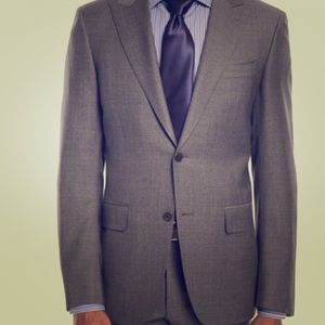 Canali Gray Suit